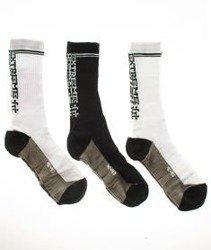 Extreme Hobby-Block Socks Skarpety 3 Pack Białe/Czarne