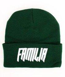 Familia Wear-Logo Czapka Zimowa Zielona