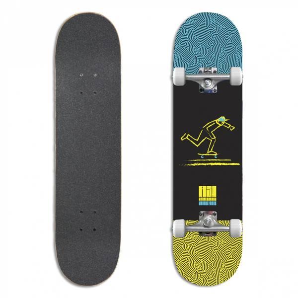 Fish Skateboards Deskorolka Kompletna PUSH 8.0