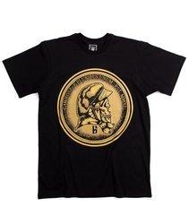 Gawrosz E PLURIBUS UNUM T-Shirt Czarny