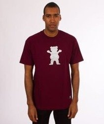 Grizzly-Woodland OG Bear T-Shirt Burgundy
