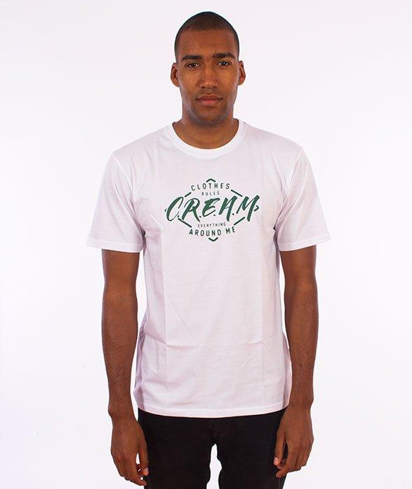 IAM. CLOTHES-C.R.E.A.M. T-shirt Biały