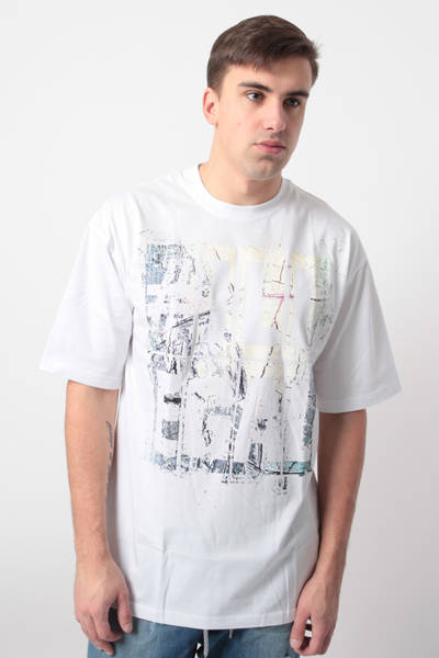 Illegal EVIDENCE T-Shirt Biały