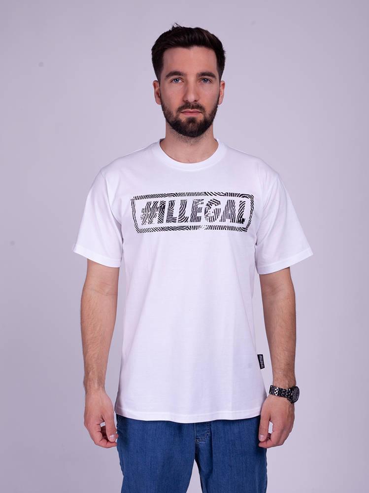 Illegal ODCISK T-Shirt Biały
