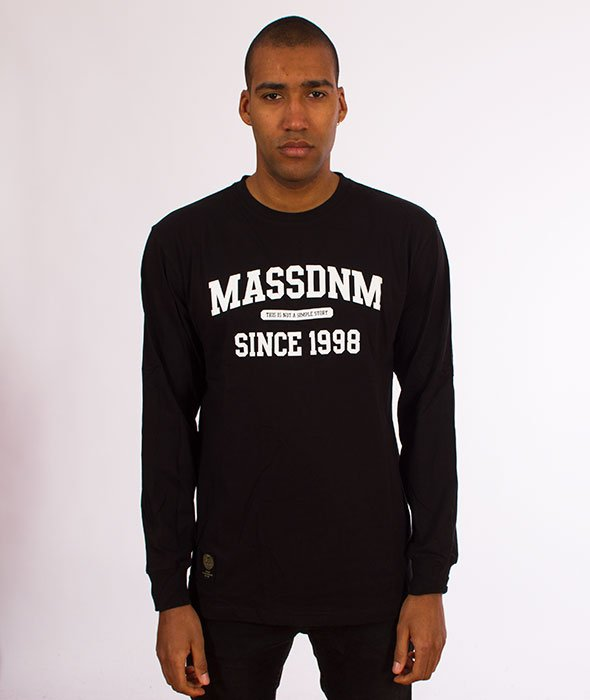 Mass-Campus Longsleeve Black