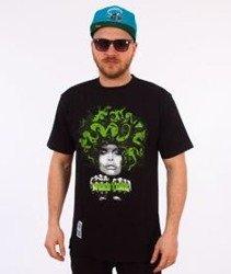 Mass-Lady In Green T-shirt Czarny