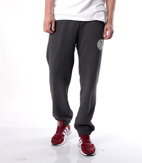 Mass-spodnie dresowe Base Sweatpants Regular Fit Szare