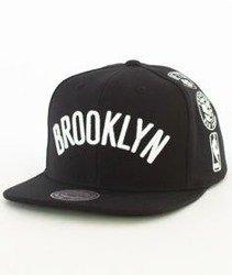 Mitchell & Ness-Brooklyn Nets 059VZ Snapback Czapka Czarna