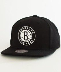 Mitchell & Ness-Brooklyn Nets Raised Perimeter SB  Snapback BH72P3