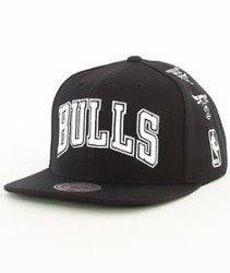 Mitchell & Ness-Chicago Bulls 059VZ Snapback Czapka Czarna
