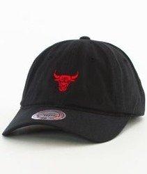Mitchell & Ness-Chicago Bulls Snapback Czapka Czarna
