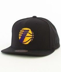 Mitchell & Ness-Los Angeles Lakers 032VZ Snapback Czapka Czarna