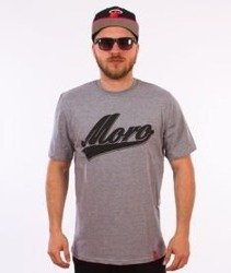 Moro Sport-Baseball Shadow T-Shirt Szary