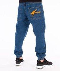 Moro Sport-Big Paris Jogger Jeans Spodnie Średni Jeans