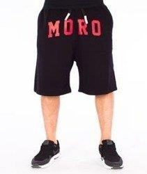 Moro Sport-MORO Spodnie Krótkie Dresowe Czarne