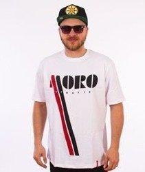 Moro Sport-Vintage T-Shirt Biały