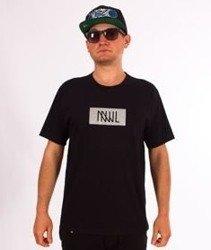 NNJL-Box Logo T-shirt Reflective Czarny