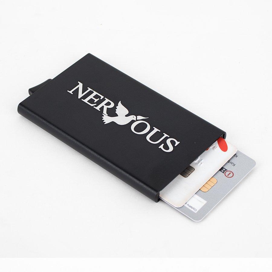 Nervous ETUI na Karty Kredytowe Czarny