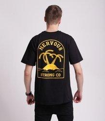 Nervous ISLAND T-Shirt Czarny