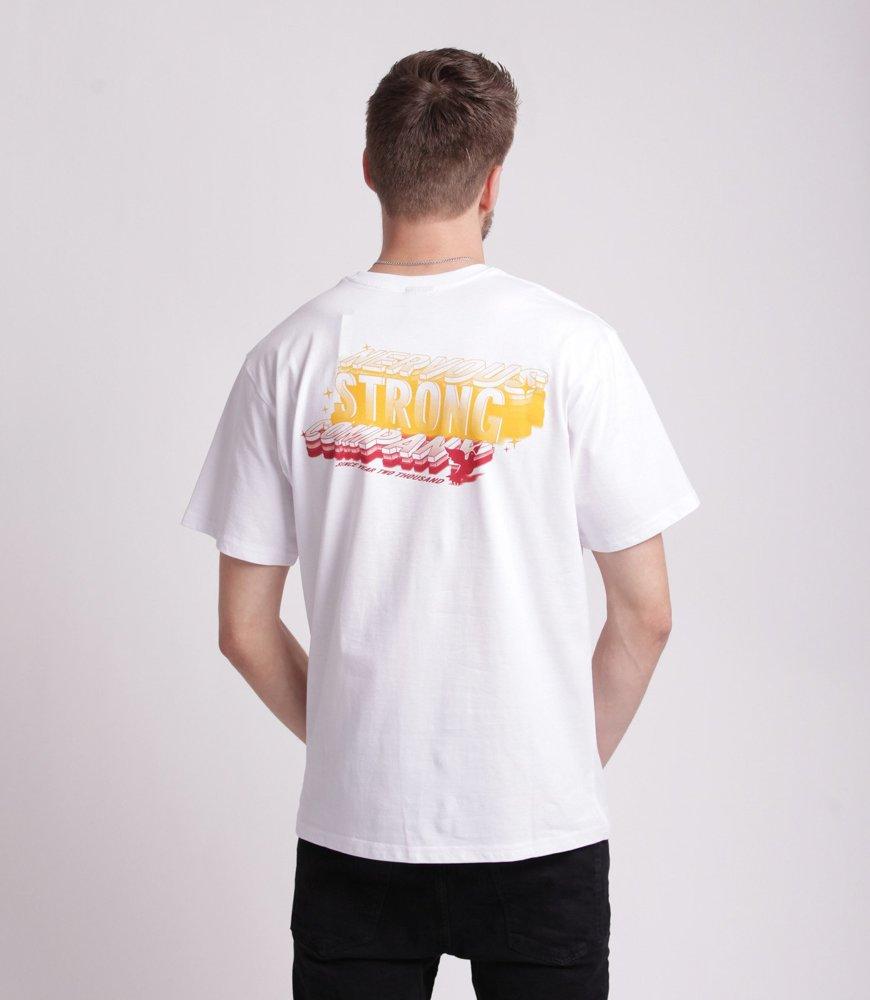 Nervous LOT T-Shirt Biały