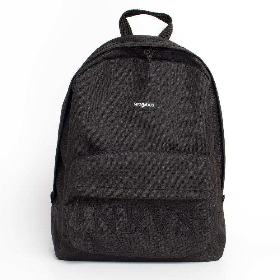 Nervous SCHOOL SHORTCUT Plecak Czarny/ops