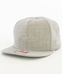 New Era-Gel Fil New Era Snapback Czapka Szara