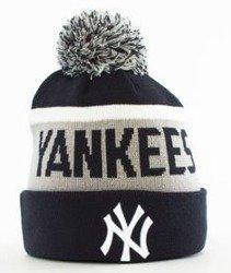 New Era-New York Yankees Team Czapka Zimowa Granatowa/Szara