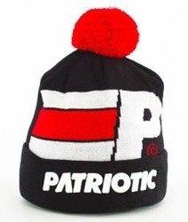 Patriotic-P Big Flag Pompon Czapka Zimowa Czarna