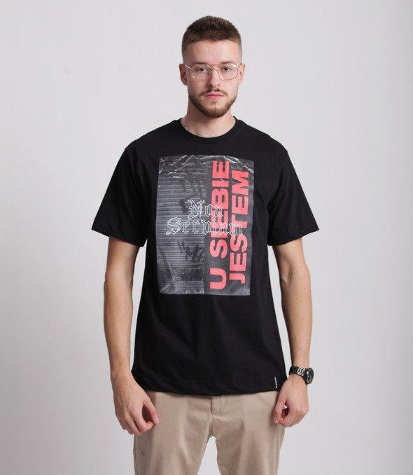 Pihszou-U Siebie Jestem T-shirt Czarny