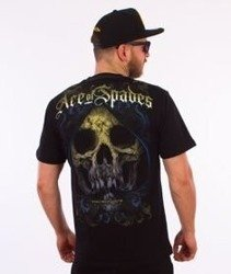 Pit Bull West Coast-Ace Of Spades T-Shirt Czarny