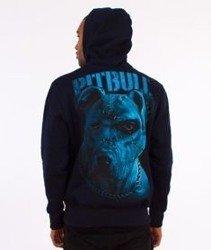 Pit Bull West Coast-Blue Eyed Devil IX Hoodie Bluza Kaptur Granatowy