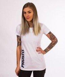 Prosto-Scale T-shirt Damski Biały