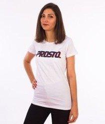 Prosto-Ssicla T-shirt Damski Biały