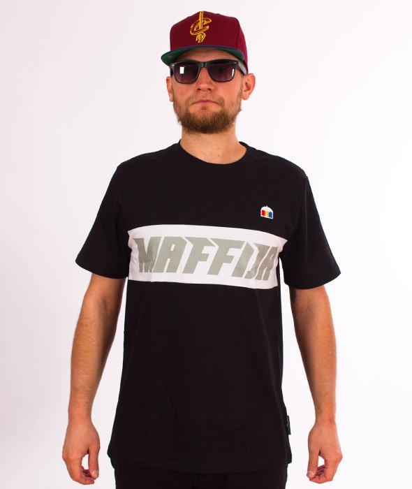SB Maffija-Lines T-Shirt Czarny