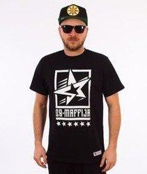 SB Maffija-Stars T-Shirt Czarny