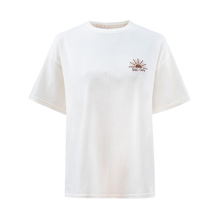 SSG Girls SUNSET T-Shirt Oversize Sand Beige