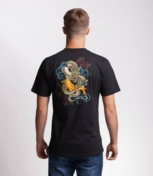 Smoke Story DRAGON T-Shirt Czarny