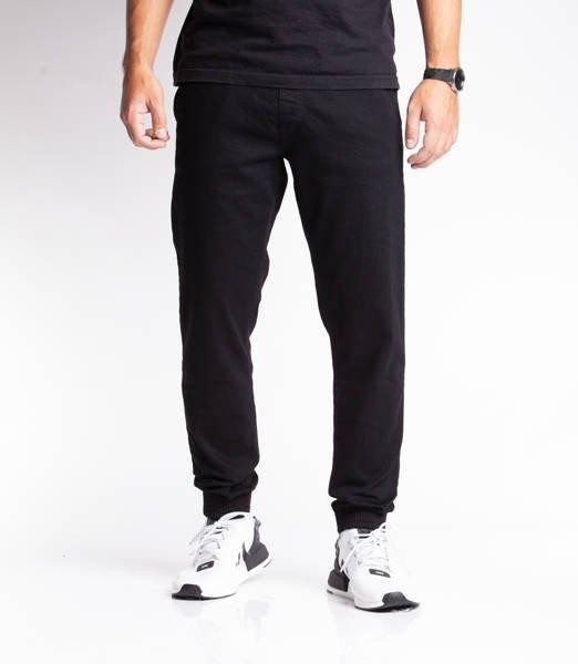 Smoke Story SKIN Jogger Slim Jeans Czarny