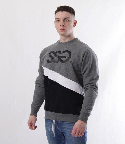 SmokeStory-Cut SSG Bluza Ciemny Szary Czarny