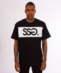 SmokeStory-SSG Belt T-Shirt Czarny