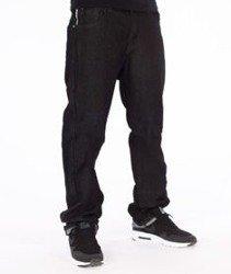 Southpole-Slim Straight Spodnie Jeans Rinse Black