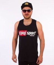 Stoprocent-CS17 Tank Top Czarny