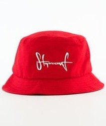 Stoprocent-CZ Bucket Hat Czapka Red