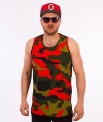 Stoprocent-Camu Red Tank Top Camo