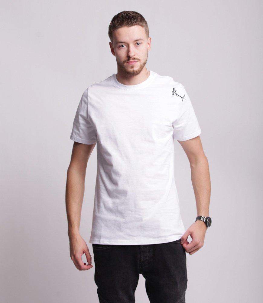 Stoprocent TMR SMALLTAG T-Shirt Biały