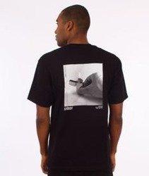 Stussy-Catch A Fire T-Shirt Black