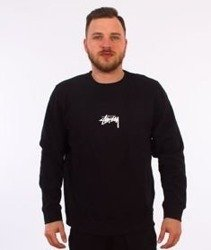 Stussy-Stock Crewneck Bluza Black