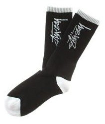 Stussy-Stock Socks Skarpetki Black