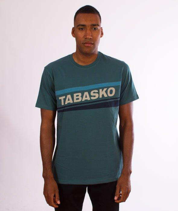 Tabasko-Skew T-Shirt Turquoise