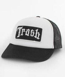 Trash-Trash Trucker Czapka Czarna/Biała